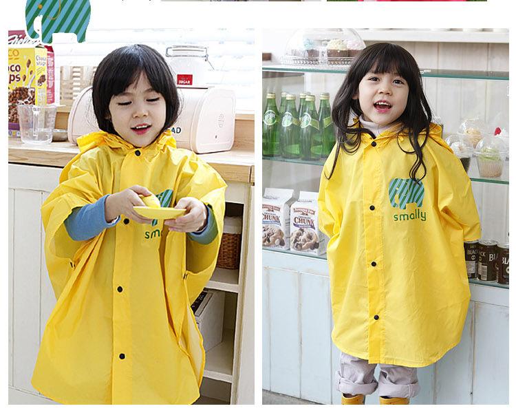 SHENGMING Nouveau Style Enfants Imperméable De Mode Poncho Imperméables