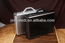 new high quality black or silver Diamond pattern handle Aluminum tools case tools box tool kit set laptop protect box