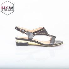 Los extranjeros lxx-002 sandalias con barrena conjunto sandalias zapatos sandalia
