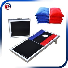 cheap corn hole bean bag toss game /outdoor game /game table