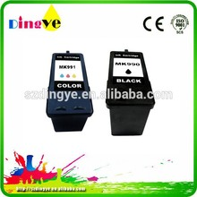 Remanufacture ink cartridge for Dell MK 990/991for DELL All In One 926 Photo