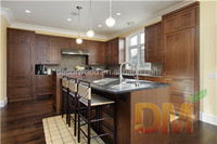 custom made solid wood kitchen cabinets made in china
