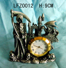 Home indoor decoration pewter cheap decoration clocks for sale with great price