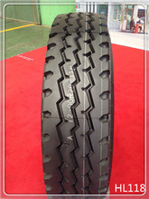 best chinese factory all steel radial truck and bus tyre(tire) 12.00R20 three line