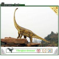 Large dinosaur sculpture for building decoration