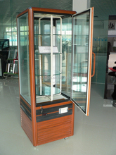 Bakery showcase refrigerators and vertical cake display case