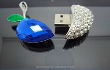 swarovski crystal usb flash drive