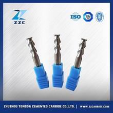 Good wear-resistance 6 flute carbide end mill coated 16mm finishing end mills with great price