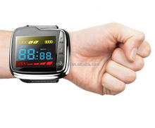 Homeuse health care product wrist watch 650nm lllt physiotherapy laser instrument