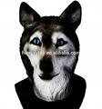 deluxe novedad y trajes de disfraces de goma lobo máscara de la cabeza