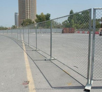 2015 hot sale 6ft temporary fencing panels