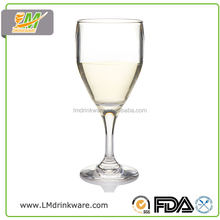 Hot new products for 2015 plastic french unbreakable champagne wine glasses