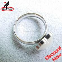 316l stainless steel opal ring mens opal rings