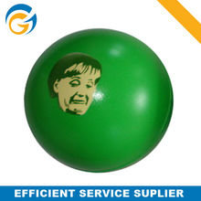 Round Color Green Ball with Brand LOGO printing