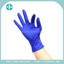 Disposable nitrile dog poop glove