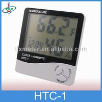 House 3 in 1 Thermometer Humidity Clock