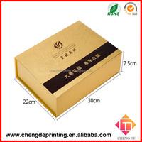 custom magnetic closure luxury paper box packaging