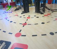 Gym/school/match use PVC tennis sports floor