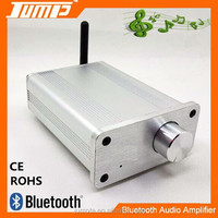 Factory supply Aluminum housing high quality Hifi 2x20W Mini bluetooth digital sound amplifier