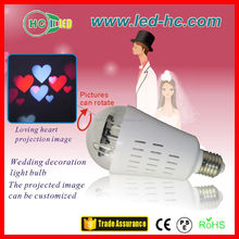 LED Bar lights projection film, weeding decorations, holiday light projector