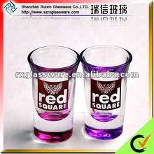 Fashionable Design Round Shape Shot Glassware