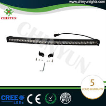 150w new projector reflector Straight black led light bar mounts for trucks