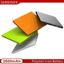 2014 Hot selling biscuit power bank new product super thin credit power bank 2200mah 2600mah promotion