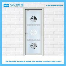 Lowest price aluminum alloy single swing door for kitchen