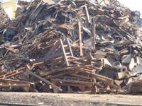 Rails Scrap and metal scrap