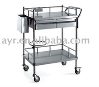P Stainless steel dressing cart