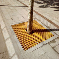ANTI Corrosion Frp grating for frp tree pool cover