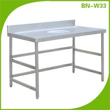 de alta calidad de acero inoxidable muebles de cocina