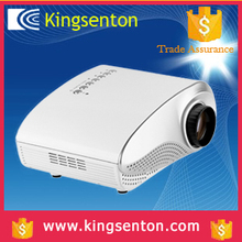 "25W Power Waster 1000:1 480*320 2.4"" 16:9/4:3 Native LCD Technology Latest Mobile Phone Hologram 4k Projector"