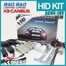 Factory direct h3 hid high power 12v 35w Slim Xenon HID Kit H13 Bi-Xenon HID Kit 6000k 12V with canbus ballast