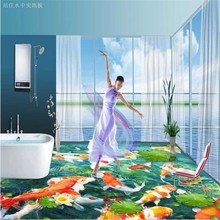 Newest design art floor 3d best price 3d floor tiles uk factory directly supplying art decorative 3d tile