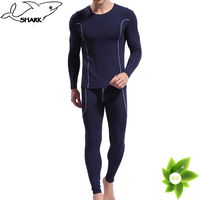Online wholesale Men's long johns set,bamboo fiber heated underwear for men ,thermal inner wear