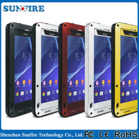Waterproof case for sony xperia z, shockproof case for sony xperia z2, for sony xperia z2 case