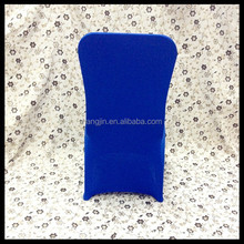 wholesale navy blue spandex cheap chair cover wedding decoration/lycra chair cover for banquet chair