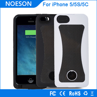 6000mAh High Capacity 2.5 times full charging times Extended Battery Case For iPhone 5S/5 Battery Charger Case