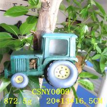 Cute Car Sahped Resin Cheap Indoor Bird House