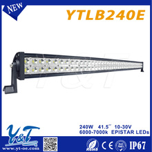 News Hot Sale Product 4X4 offroad led driving light bar, 240w Offroad LED Work Light bar With Coloful Cover,4x4 auto car led lig