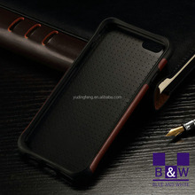 2015 New Carbon Fiber Ultra Slim Case Skin Leather Back Cover Case for iPhone 6s with high quality
