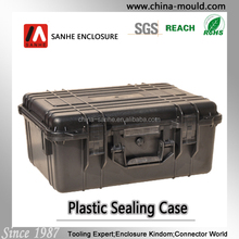 45-15 black plastic equipment case with handle