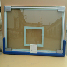 Aluminum frame tempered glass basketball basket board