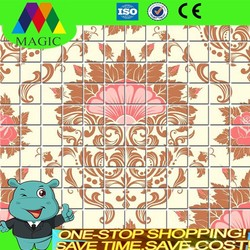2015 new trend glass mosaic tiles, Eurpope style printing mosaic