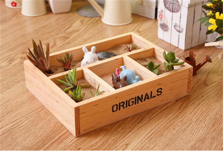 source good price of wooden flower troughs for home use on m