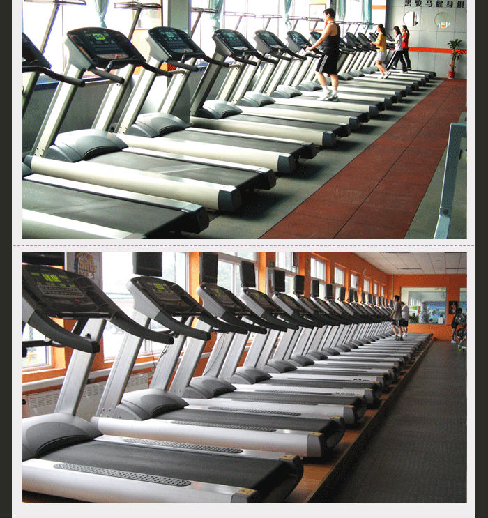 Aerobic exercise equipment, AC motor running machine