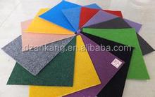 needle punched slip-resistant plain moquette exhibition carpet