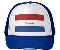 the Netherlands beach flag hat Promotion