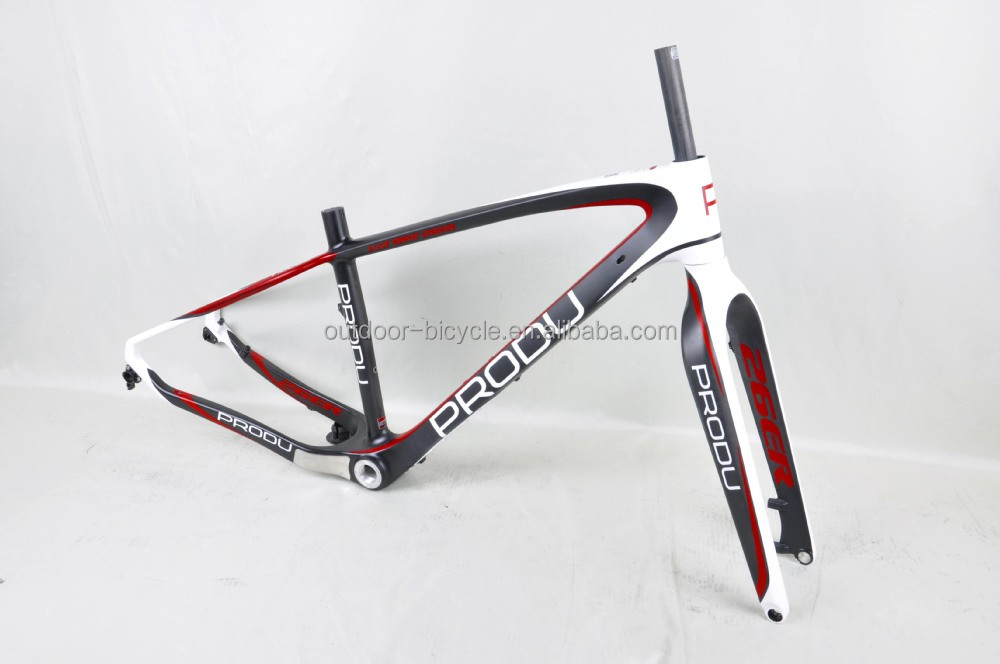 Baolijia Hot Sale ! Carbon Fat Sand Bicycle Frame Fm190,Chinese Snow ...